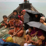 FILE - In this June 13, 2012 file photo, a Rohingya Muslim man who fled Myanmar to Bangladesh to ...