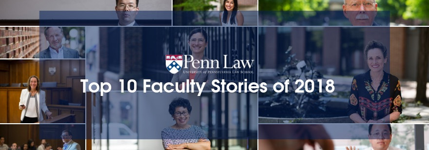 Year in Review: Penn Law Faculty