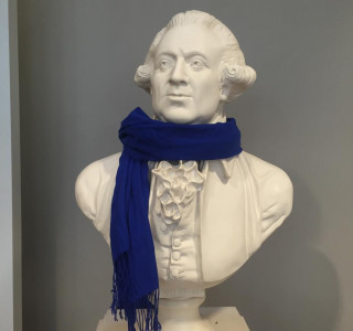 Brrrr! It is chilly out there! Fortunately I look dashing with a scarf. If you don't want to brave the cold and come to the library in person, you can access many materials very quickly from off campus!