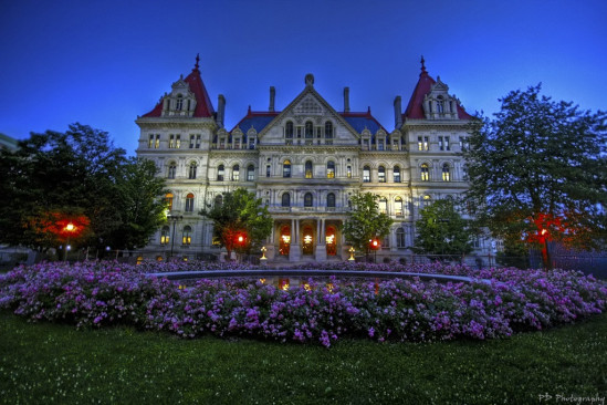 Capitol Building in Albany. Photo by Pete Dzintars.