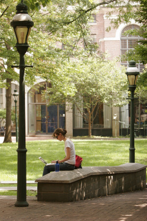 Penn Law Courtyard