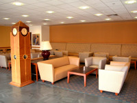 The lounge in Tanenbaum Hall.