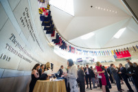 Penn Law debuted a new venue for Saturday evening's Reunion Gala: the National Constitution Center.