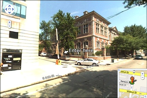 Entrance to Gittis Center