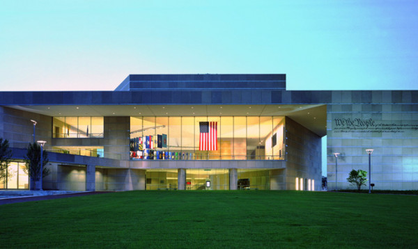 National Constitution Center dusk