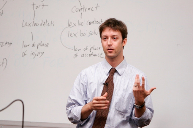 Professor Kermit Roosevelt lectures on Constitutional Law