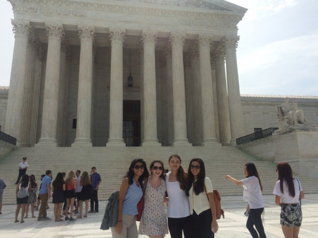 Pre-College students at The Supreme Court of the United States