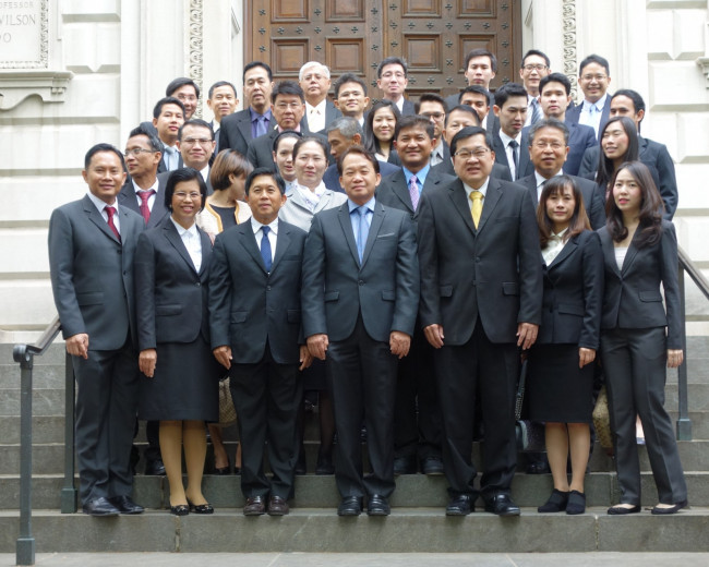 Thai Judiciary program at Penn Law in 2015.