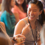 Incoming Penn Law School students go through a day of orientation at campus. Events included lect...