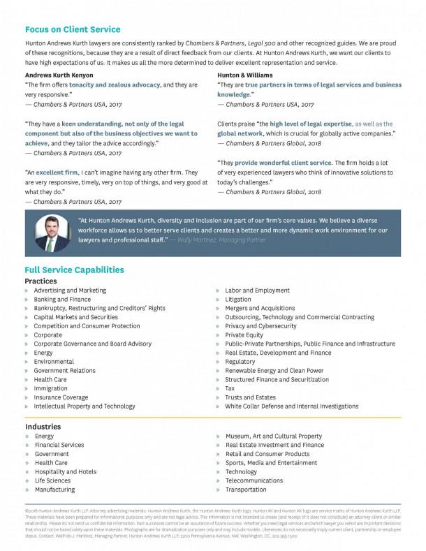 Hunton Andrews Kurth: Employer Blog • Penn Law