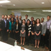 Students visited government agencies and think tanks to learn about the legal issues involved in ...