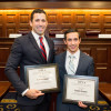 Matt Lembo L'17 and Stephen DeSalvo L'17 were named best oralist, and the team won best appellant...