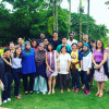 Emily Sutcliffe (sixth from left) trained human rights attorneys and activists in Malaysia as par...