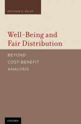 Faculty Book: Matthew Adler's Well-Being and Fair Distribution
