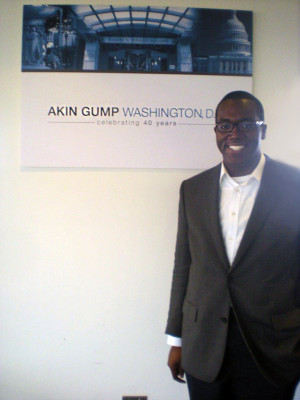 Simon is working at Akin Gump in Washington, D.C., where he hopes to return as a litigator after completing a judicial clerkship.