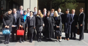 Penn Law and Wharton students traveled to NYC to learn more about the investment industry.