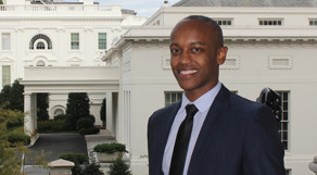Girmay Zahilay L'14 is spending the fall semester of his 3L year at the White House.