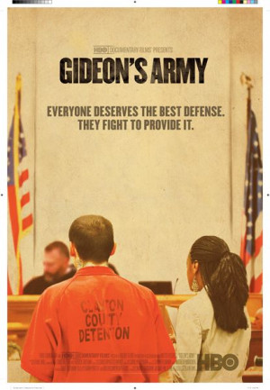 "The panel discussion set up the screening of ""Gideon's Army"" by fostering frank discussion of the problems that plague the criminal justice system and influence the ways in which public defenders work."