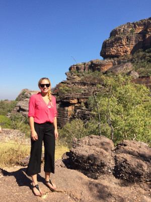 Eagan in Kakadu national park, where she serves 3 communities.