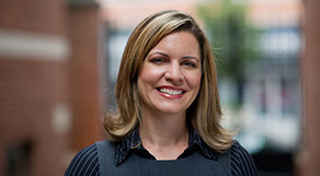Jennifer Leonard L'04, Director of the Center of Professionalism and Associate Director for Professional Development.
