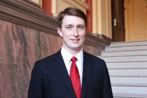 Parker Rider-Longmaid L'13 received a Bristow Fellowship and will work for one year at the Office of the Solicitor General.