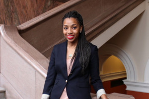 Kendra Sandidge L'16 was named Editor-in-Chief of the University of Pennsylvania Law Review, and she is the first African-American woman to hold the position.