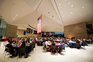 Penn Law's newest class of students gathered at the National Constitution Center for their orientation.