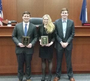 A team from Penn Law recently won the John L. Costello National Criminal Law Trial Advocacy Competition hosted by George Mason School of Law in Fairfax, Virginia.