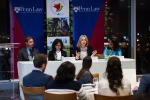 The panelists discussed a broad range of topics that impact the world's women and girls, including the political participation of women in official capacities and the role of equal access to primary and secondary education for girls.