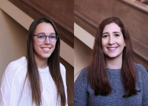Anna Marion L'18 and Teddi Anne Josephson L'18 received last year's CTIC Scholarships.