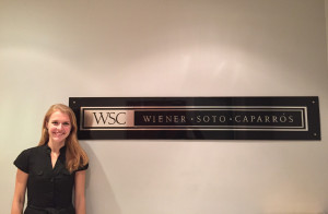At Wiener Soto Caparrós in Buenos Aires, Ruth-Helen Vassilas L'18 worked on projects involving Argentine and U.S. law.