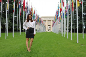 Leah Wong L'18 drew on her coursework in international law during her summer at the Office of the U.N. High Commissioner of Human Rights.