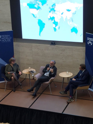 Some challenges of being Chief Prosecutor of the ICC that Ocampo reflected on included the element of uncertainty in decision-making and the obligation to stay neutral in highly political situations.