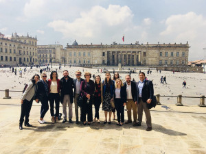 Students in the Global Research Seminar studied the peace agreement that ended a nearly 60-year conflict in Colombia.