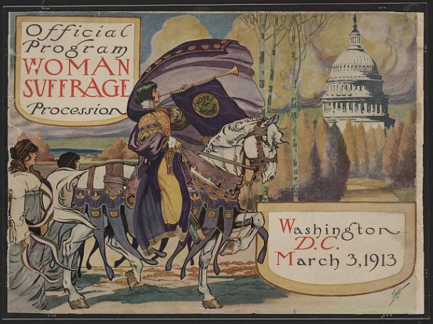 Official program - Woman suffrage procession, Washington, D.C. March 3, 1913 / Dale, Library of C...