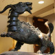 This iconic statue guards the entrance to The Goat Lounge, one of four main student gathering spo...