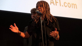 Margaret Prescod at film's premiere