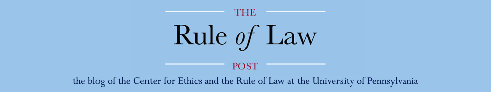 The Rule of Law Post Blog