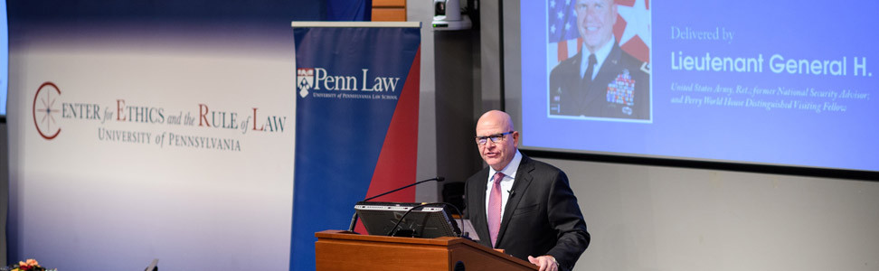 Center for Ethics and the Rule of Law • Penn Law