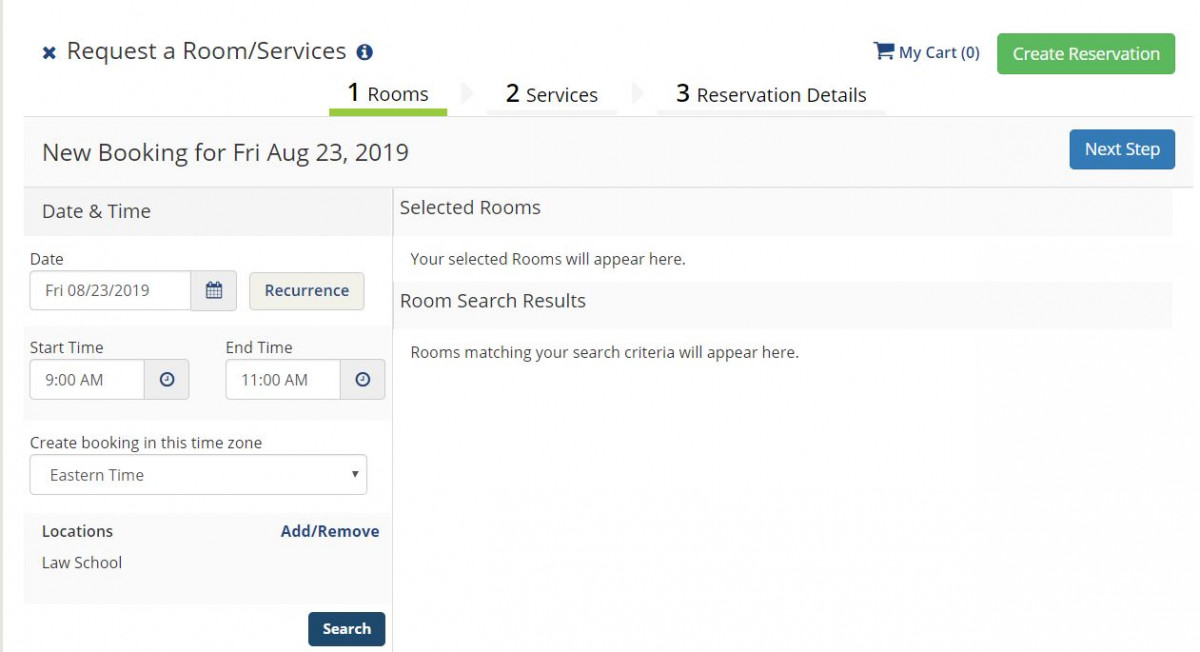 Event Reservation Overview • Penn Law