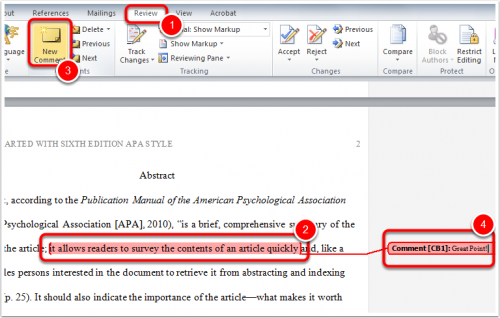 how to add margin comments to pdf
