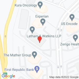 Penn Law Calendar of Events / Latham SoCal Event (San go, CA)  Map on